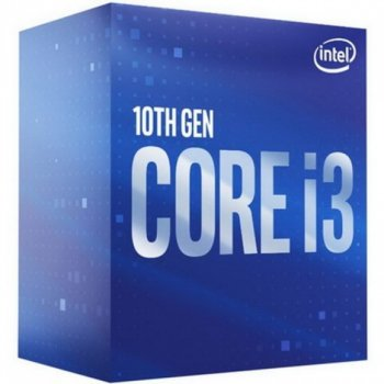 Intel Core i3 10100F 3.6 GHz (6MB, Comet Lake, 65W, S1200) Box (BX8070110100F)