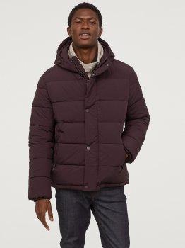 Куртка H&M 0769070-0 Бордовая