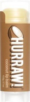 Бальзам для губ Hurraw! Coconut Lip Balm Кокос 4.8 г (851228005045)