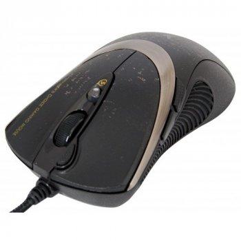 Мышь A4Tech F4 Black USB V-Track