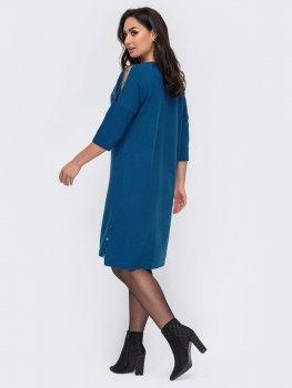 Плаття Dressa 52716 Бірюзове