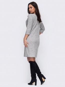 Плаття Dressa 52738 Сіре