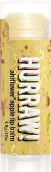 Бальзам для губ Hurraw! Ahiflower Apple Lip Balm Ахифлауер и яблоко 4.8 г (851228005601)