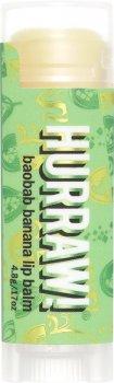 Бальзам для губ Hurraw! Baobab Banana Lip Balm Баобаб и банан 4.8 г (851228005250)