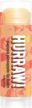 Бальзам для губ Hurraw! Papaya Pineapple Lip Balm Папайя и ананас 4.8 г (851228005243)