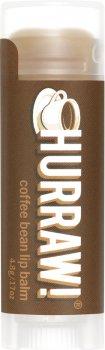 Бальзам для губ Hurraw! Coffee Bean Lip Balm Кофейные зерна 4.8 г (851228005052)