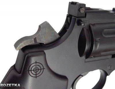 Пневматичний пістолет Crosman 3576 Revolver (3576W)