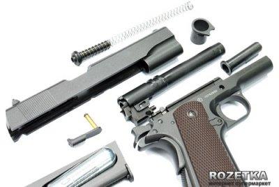 Пневматичний пістолет KWC KMB76 Blowback