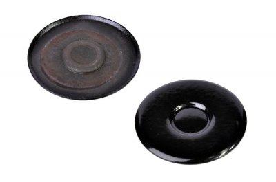 """Крышка рассекателя для газовой плитыт, """"эмаль"""" d= 55mm Ariston, Indesit C00052933"""
