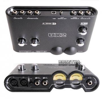 Аудіоінтерфейс Line 6 POD Studio UX2 USB