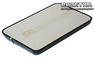 "Внешний карман Agestar для HDD 2.5"" USB2.0 (SUB 2A8 Silver)"