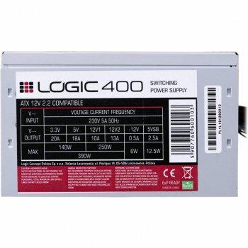 Блок живлення LOGIC CONCEPT 400W (ZAS-МЕТОДОМ LC-400-ATX-PFC)