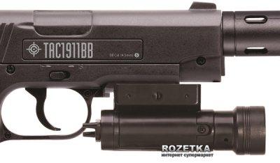Пневматичний пістолет Crosman TAC 1911BB (40005)