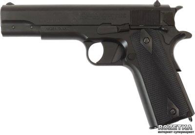 Пневматичний пістолет Crosman GI Model 1911BBb (40021)