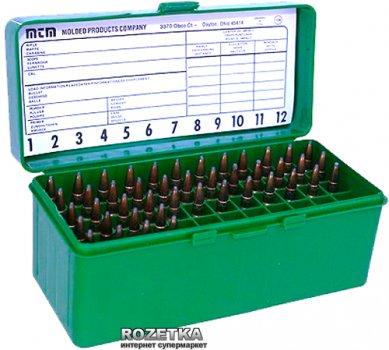 Коробка МТМ RM-60 для патронів 308 Win 60 шт. Зелений (17730471)