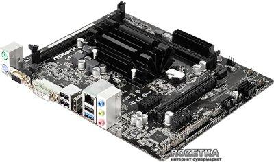 Материнська плата ASRock Q1900M (Intel Quad-Core J1900, SoC, PCI-Ex16)
