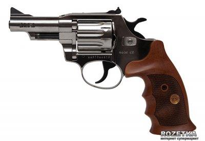 """Револьвер Alfa мод 431 3"""" (никель, дерево) 144943/9 (14310058)"""