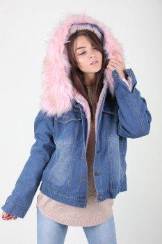 Куртка женская LadiesFashion 902 (Розовый )