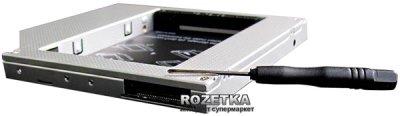 """Адаптер підключення Grand-X HDD 2.5"""" в відсік приводу ноутбука IDE/mSATA (HDC-20)"""