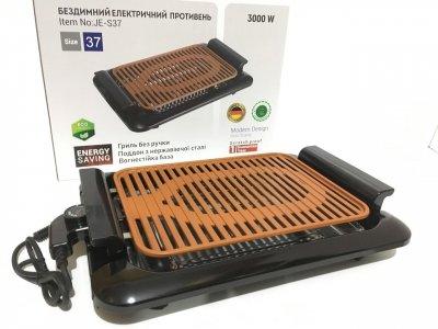 Електричний гриль і барбекю бездимний Tomax JE-S37, Потужність 3000W, Побутовий (JE-S37)