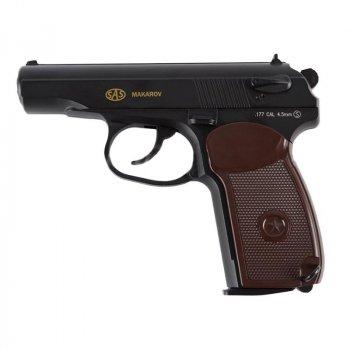 Пістолет пневматичний SAS Makarov 4.5 mm