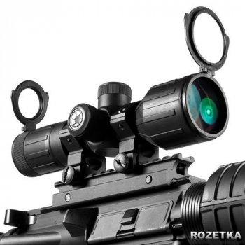 Оптичний приціл Barska Contour 3-9x40 (4A Mil Plex IR) Rubber Armored (921041)