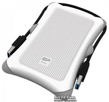 Жорсткий диск Silicon Power Armor A30 2TB SP020TBPHDA30S3W 2.5 USB 3.0 External White