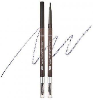 Тонкий олівець для брів Etude House Drawing Slim Eyebrow 1.5 мм №6 Soft Black 0.05 г (8806199476846)