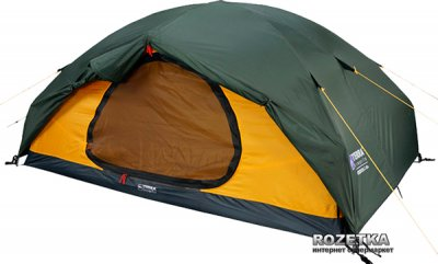 Палатка Terra Incognita Cresta 2 Зеленая (4823081500452)