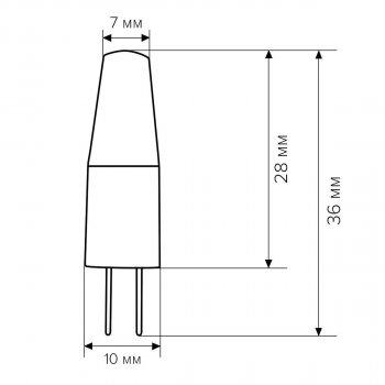 Светодиодная лампа Biom G4 3.5W 1507 4500 K AC/DC12 (05170)