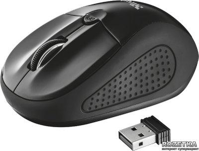 Миша Trust Primo Wireless Black (TR20322)
