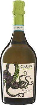 Вино игристое Mare Magnum Crudo Prosecco Organic белое экстрасухое 0.75 л 11.5% (8051764721597)