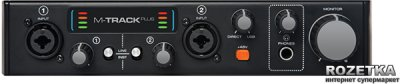 Аудіоінтерфейс M- Audio MTrack Plus II