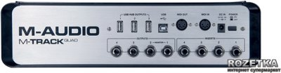 Аудіоінтерфейс M-Audio MTrack Quad (MTRACKQUAD)