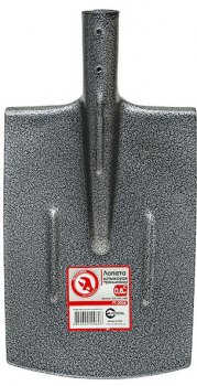 Лопата штыковая Intertool траншейная 0.8 кг (FT-2006)