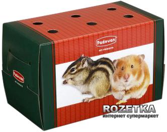 Транспортировочная коробка Padovan Transportino Piccolo для грызунов мелких и средних размеров и декоративных птиц (PP00114)
