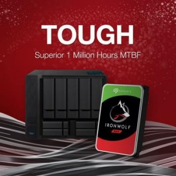 Жорсткий диск (HDD) Seagate IronWolf NAS 7200rpm 256MB (ST12000VN0008) (ST12000VN0008)