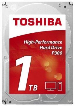 Жорсткий диск (HDD) Toshiba 1Tb 7200rpm 64Mb SATAIII P300 HDWD110UZSVA (HDWD110UZSVA)