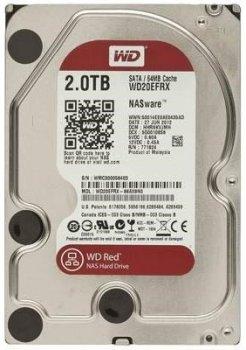 Жорсткий диск (HDD) Western Digital Caviar RED 2000Gb 64Mb 7200prm SATA3 (WD20EFRX)