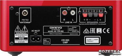 Onkyo CS-265 Red