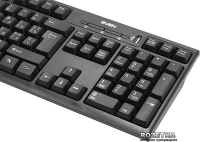 Клавиатура проводная Sven Standard 304 USB