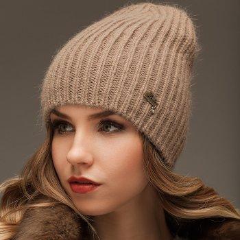 Женская шапка Jolie Зимняя Бежевый (535)