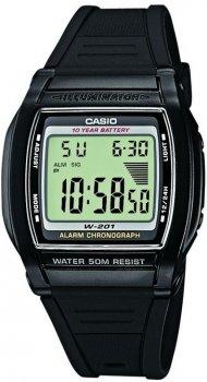 Чоловічий наручний годинник Casio W-201-1AVEF