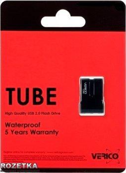Verico Tube 8 GB Black (1UDOV-P8BK83-NN)