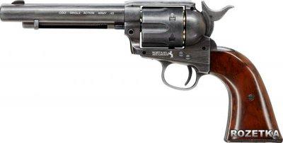 Пневматичний пістолет Umarex Colt Single Action Army 45 Brown (5.8307)