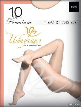 Колготки Intuicia Premium T-Band Invisible 10 Den Black
