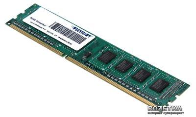 Оперативна пам'ять Patriot DDR3-1600 4096MB PC3-12800 Signature Line (PSD34G160081)
