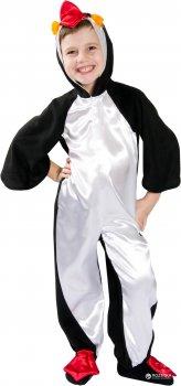 Карнавальный костюм Сашка Пингвин НГ-32-8028 110-116 см Черно-белый (971065)