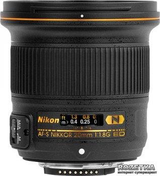 Nikon 20mm f/1.8G ED AF-S (JAA138DA) Офіційна гарантія