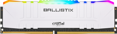Оперативна пам'ять Crucial DDR4-3000 16384 MB PC4-24000 Ballistix RGB White (BL16G30C15U4WL)